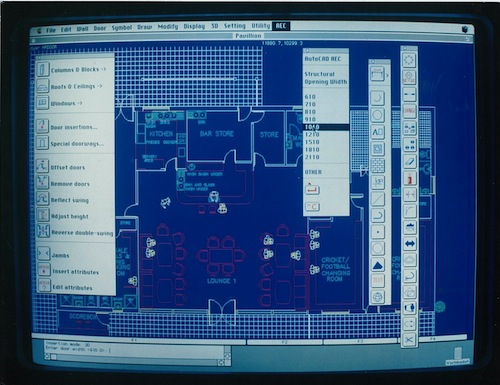 AutoCAD AEC on the Mac (1990) 1